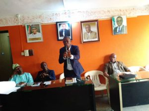 National meeting of January 2020 held at the Lagos